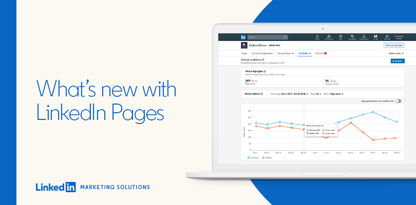 What's new with Linkedin Pages