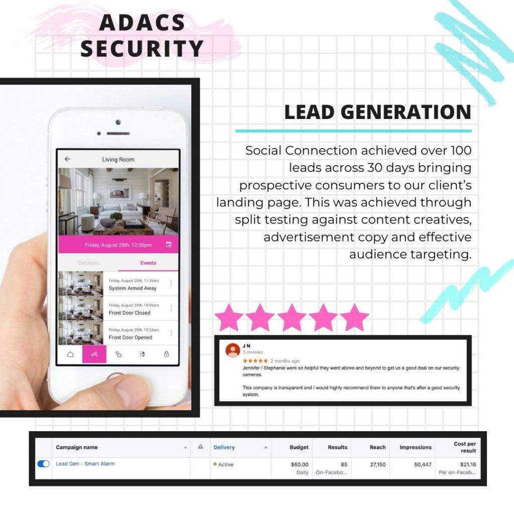 lead gen social media campaign