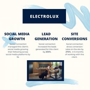 electrolux social media marketing
